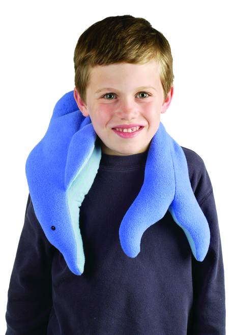 Weighted Washable Dolphin Wrap to help Soothe Tensions and Worries by Grampa's Garden