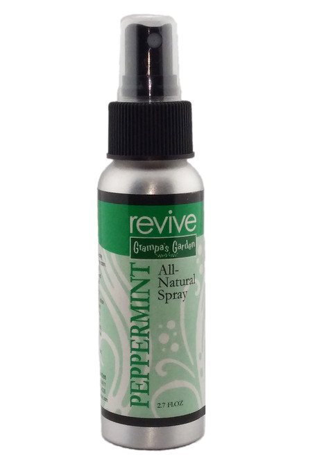 Peppermint Room Spray - All Natural. Made from 100% Pure Plant Essential Oils.