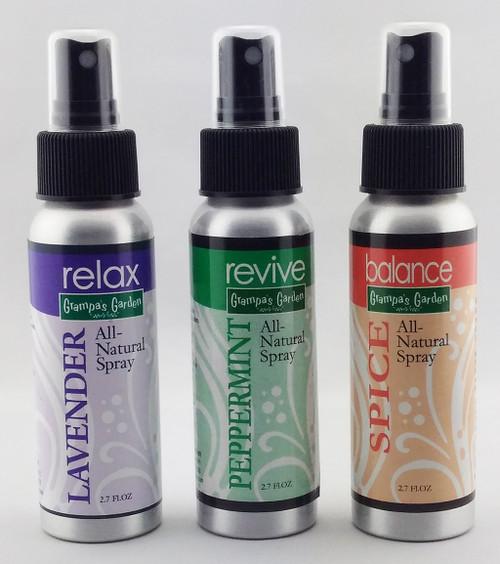 All Natural Spray Set