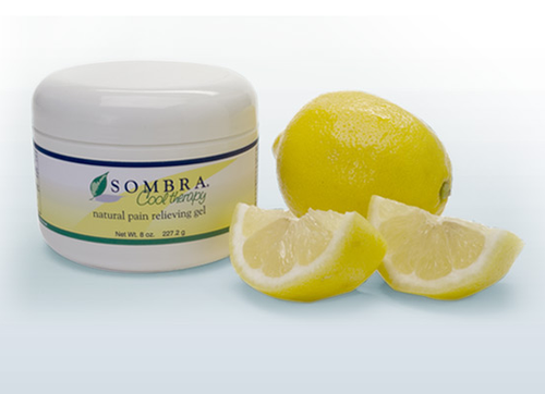 Sombra Cool Therapy Natural Pain Relieving Gel 4 Oz and 8 Oz Jar by Grampa's Garden