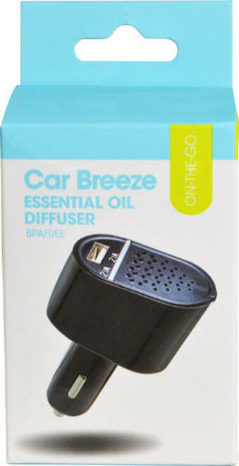 Greenair CarBreeze Essential Oil Diffuser helps Decrease Stress and Freshen your Senses