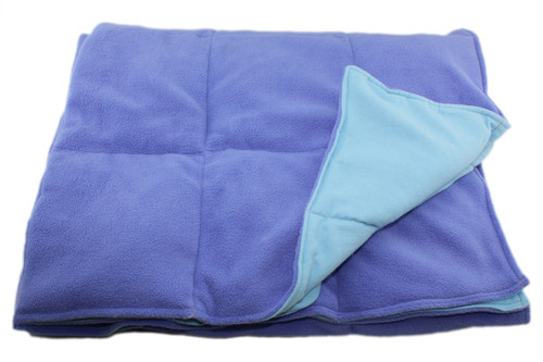 15 LB Weighted Blanket – Periwinkle - Washable - OUTLET SALE