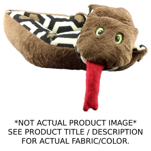 NAVY Weighted Washable Snuggle Snake - Please Note, image shown is not actual product color.