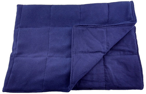 Weighted Washable Body Blanket - 5 LB – Navy - OUTLET SALE
