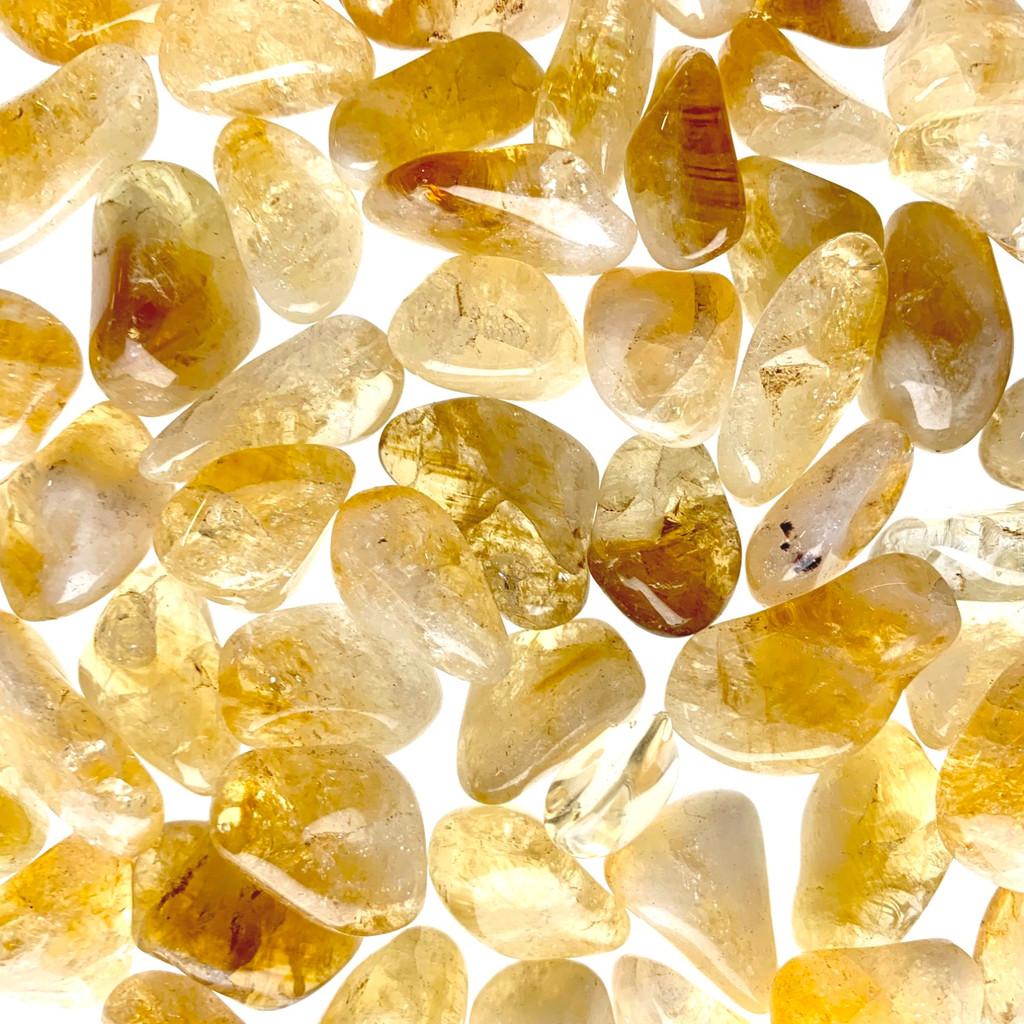 Citrine Tumbled Stones
