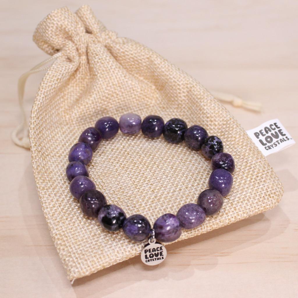 Charoite Pebble Bracelet