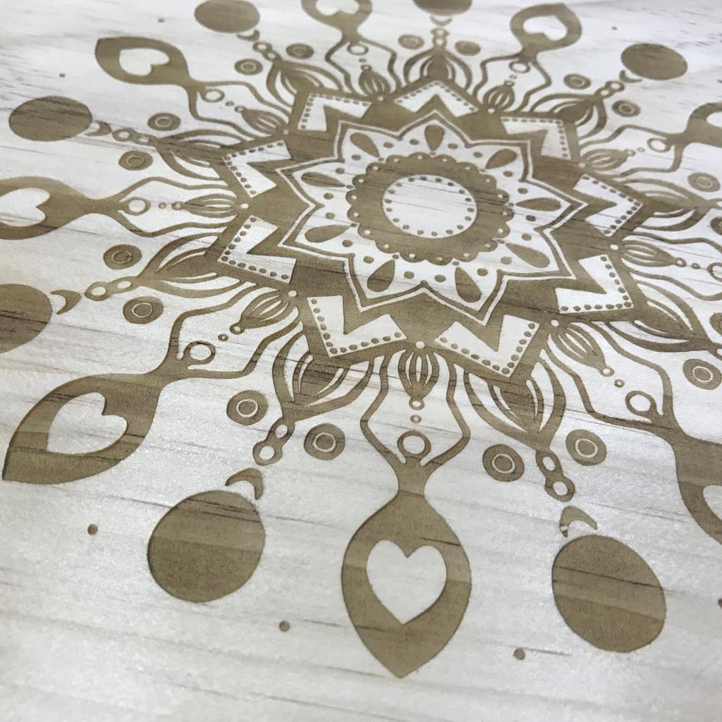 Goddess Mandala Crystal Grid