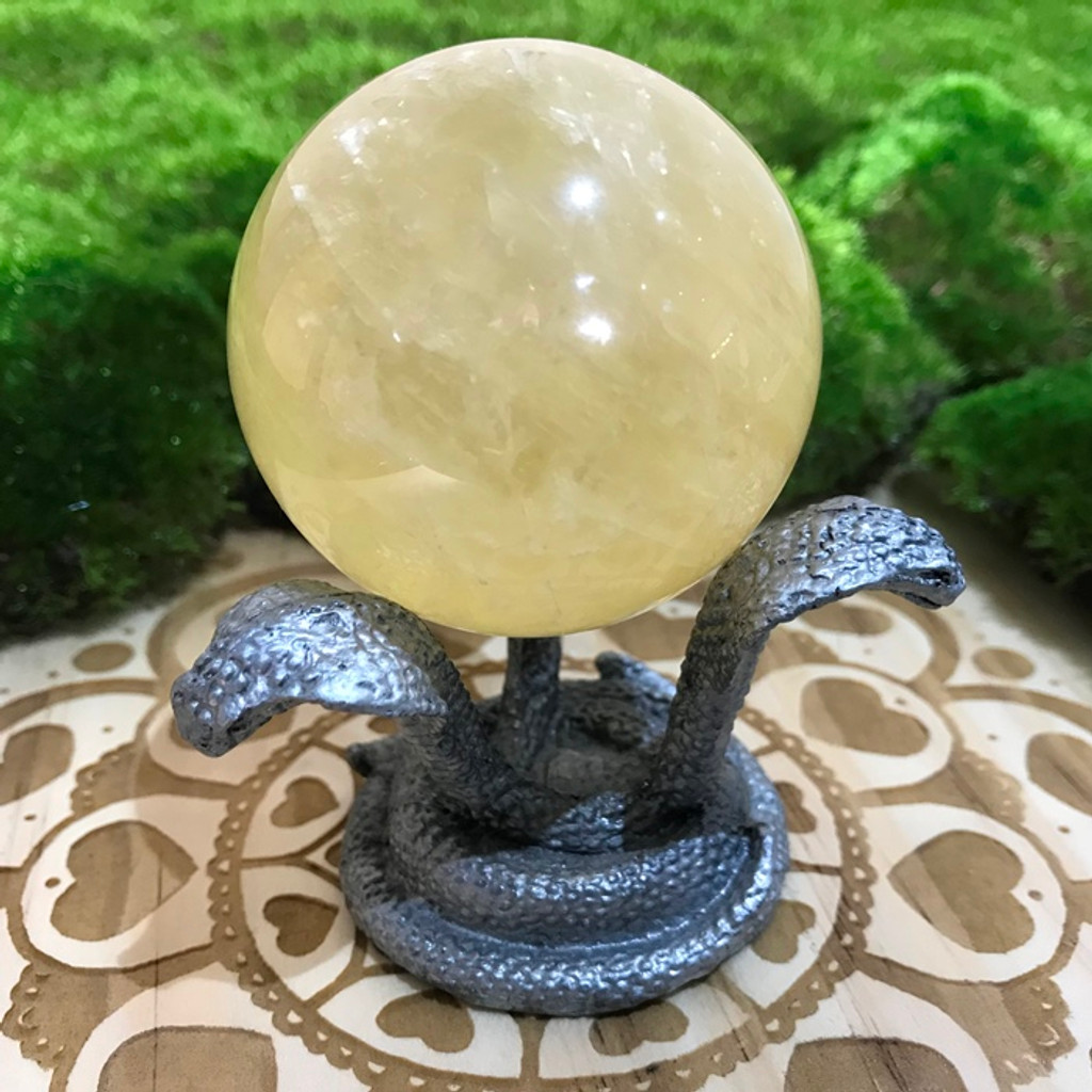 Snake Sphere Stand