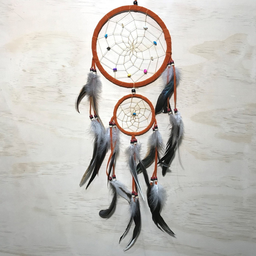 Orange Dreamcatcher