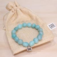 Amazonite Pebble Bracelet