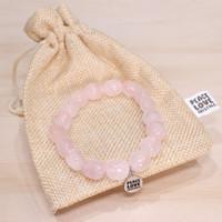 Rose Quartz Pebble Bracelet