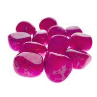 Pink Howlite Tumbled Stones