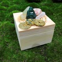 Lucky Buddha Crystal Collection Box