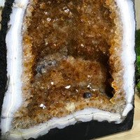 Citrine Geode Cave