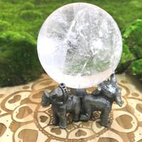 Elephant Sphere Stand