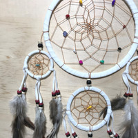 White Dreamcatcher