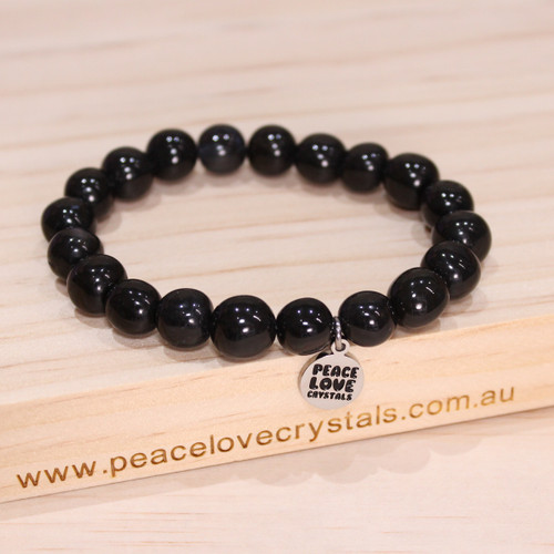 Black Onyx Pebble Bracelet