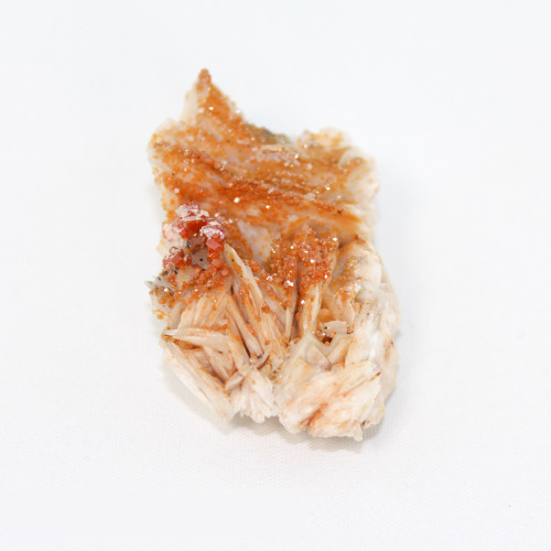 Vanadinite on Barite