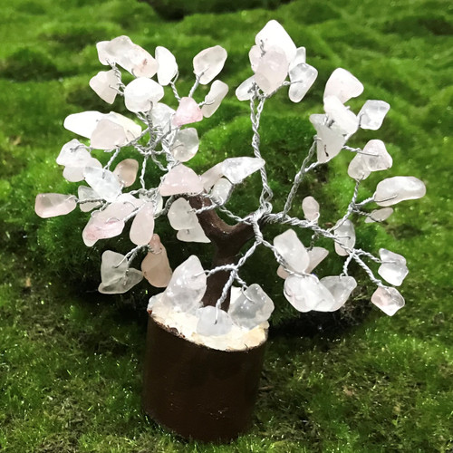 Rose Quartz Small Crystal Tree