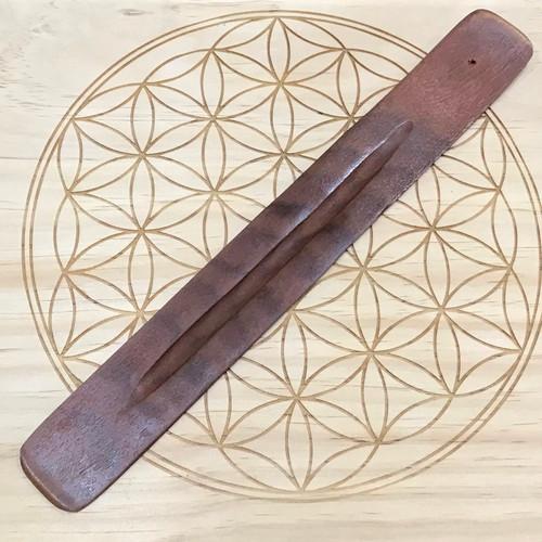 Wood Incense Stick Holder
