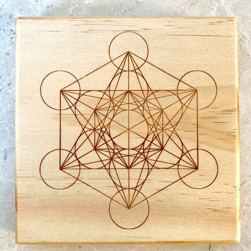 Metatrons Cube Sacred Geometry Crystal Grid