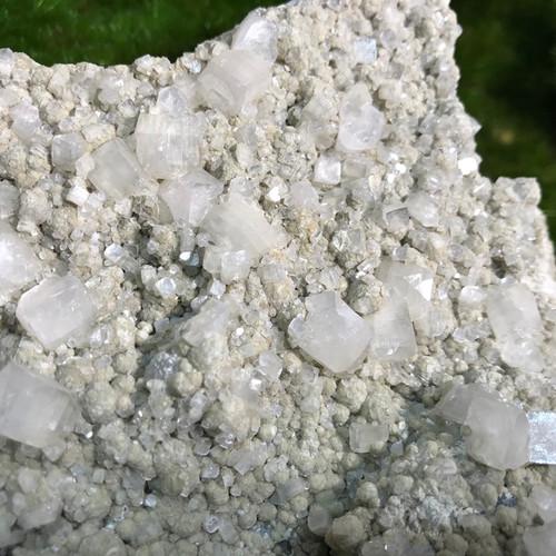 Apophyllite and Gyrolite  Cluster