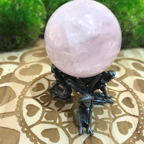 Fairies Kneeling Sphere Stand