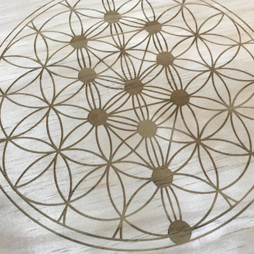 Tree of Life Sacred Geometry Crystal Grid