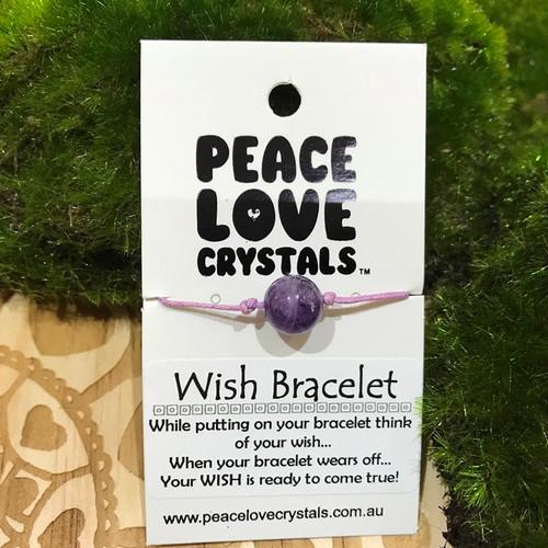 Amethyst Wish Bracelet
