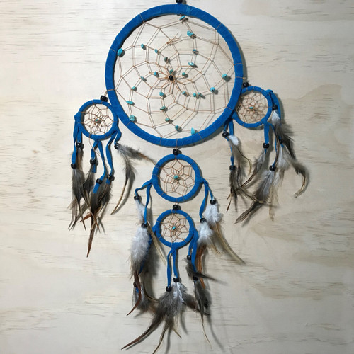 Ocean Blue Dreamcatcher