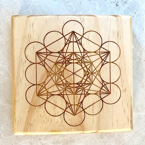 Metatrons Cube Sacred Geometry Crystal Grid
