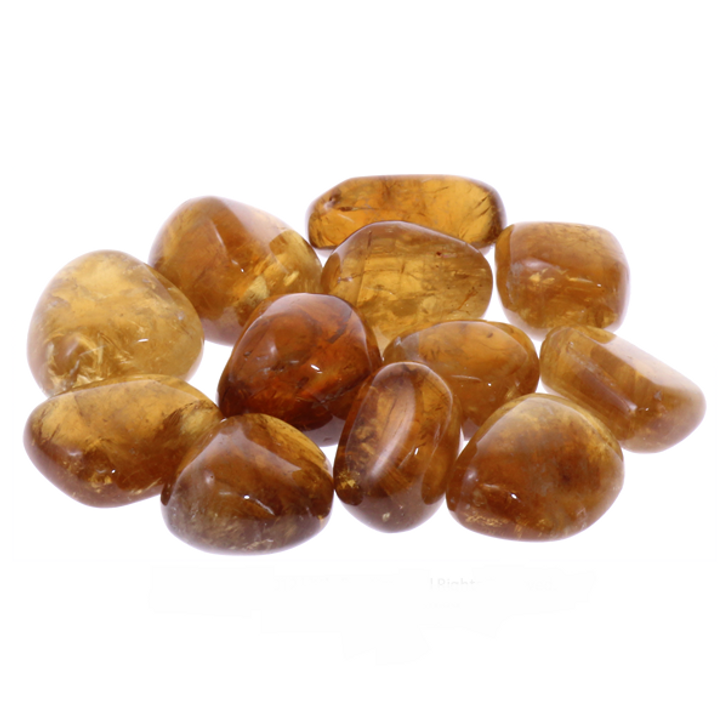 Honey Calcite Tumbled Stones