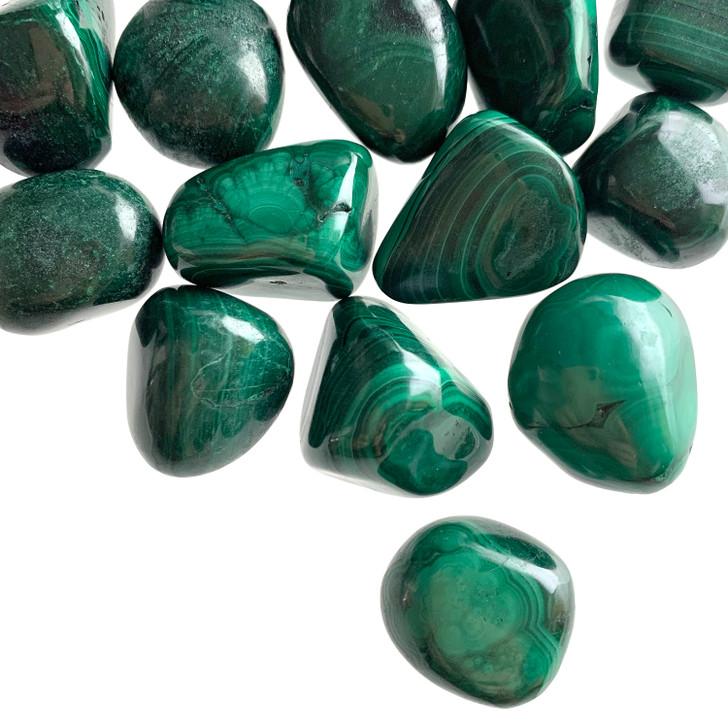 Malachite Tumbled Stones