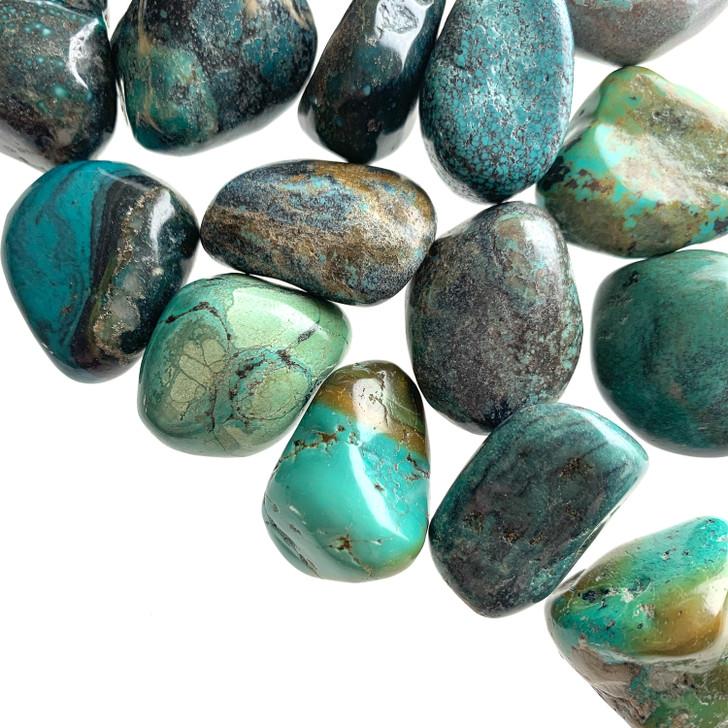 Turquoise Tumbled Stones
