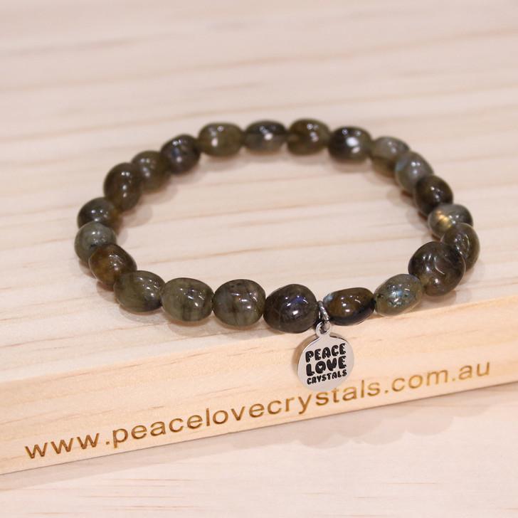 Labradorite Pebble Bracelet