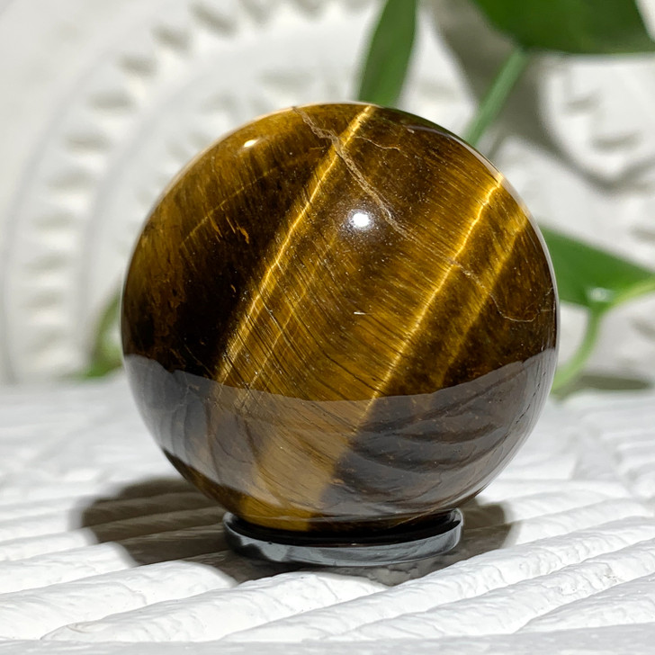 Gold Tiger Eye Sphere