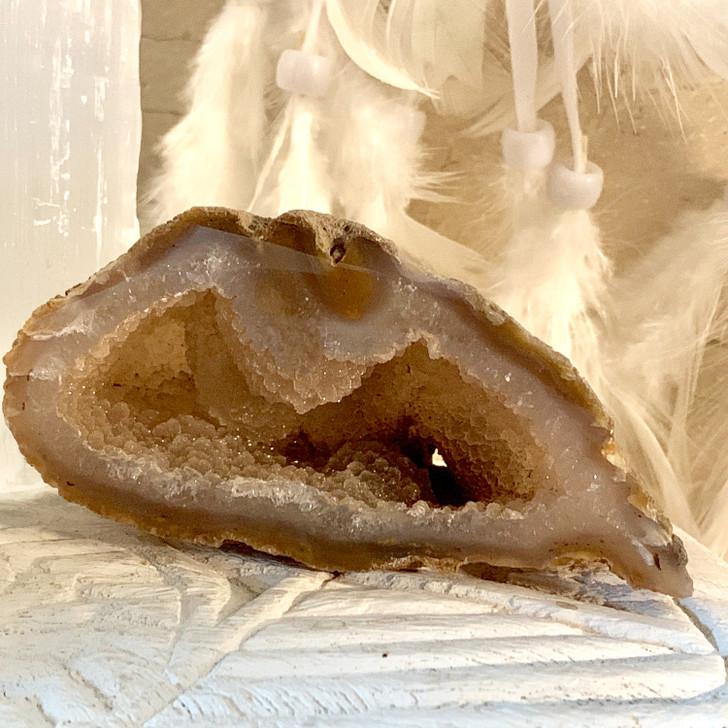 Natural Agate Geode Half