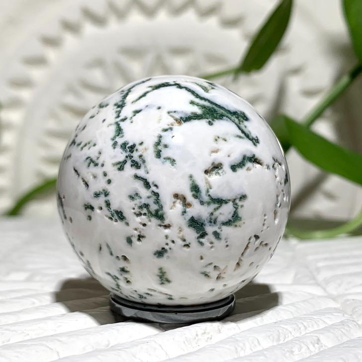 Tree Agate Sphere