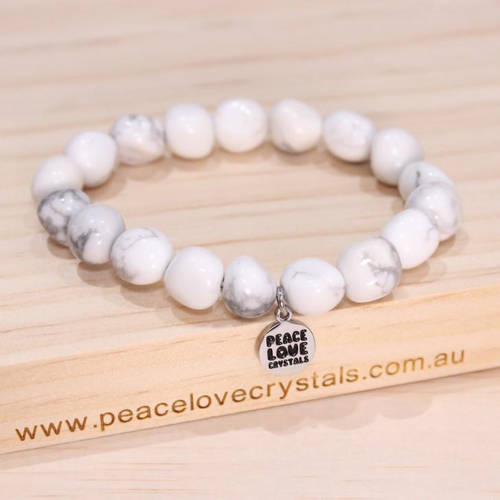 Howlite Pebble Bracelet
