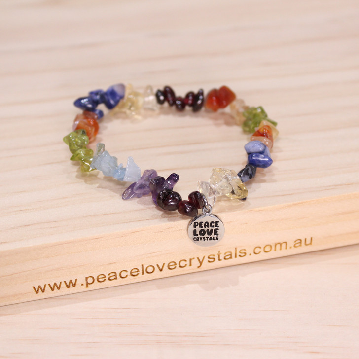 Rainbow Chip Bracelet
