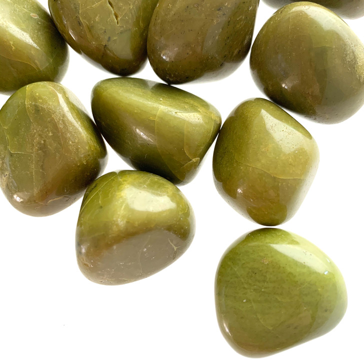 Green Opal Large Tumbled Stones