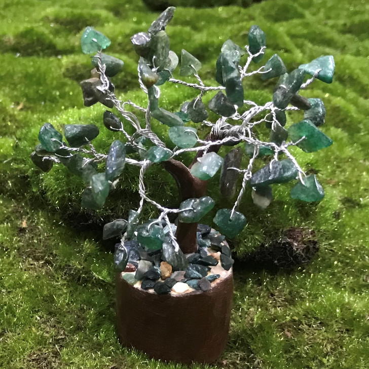 Green Aventurine Crystal Tree
