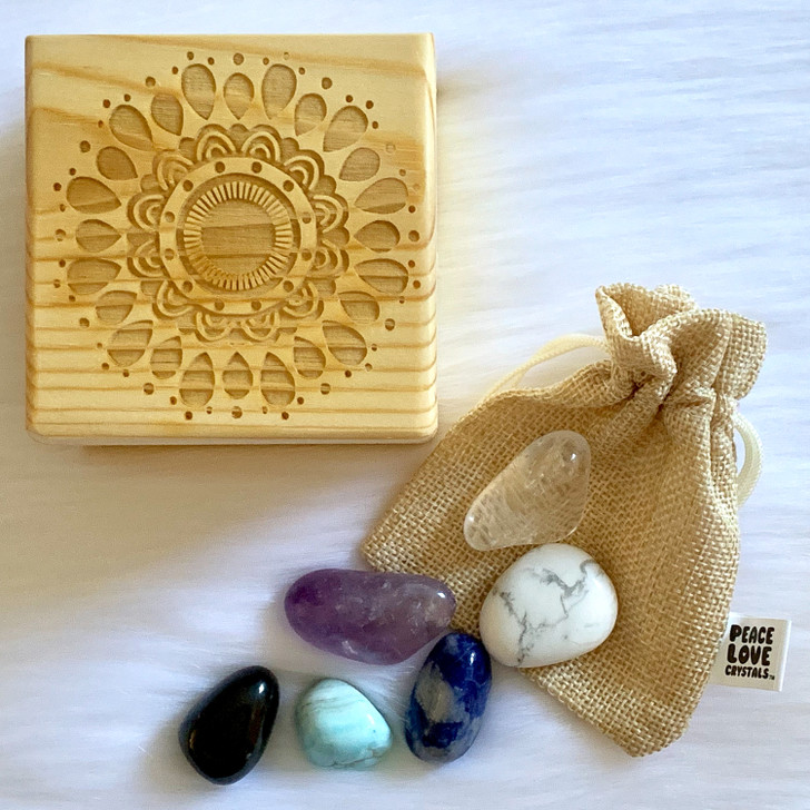 Anxiety Crystal Collection Box