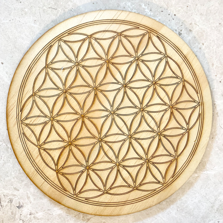 Flower of Life Sacred Geometry Grid