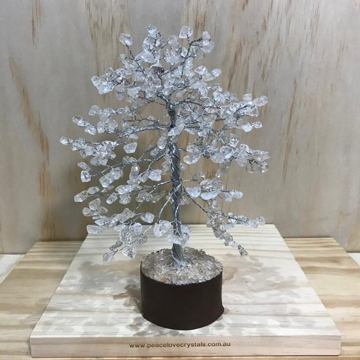Clear Quartz Crystal Tree