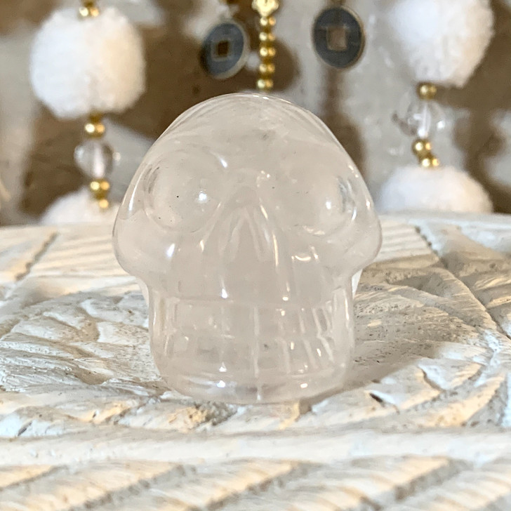 Quartz Crystal Skull