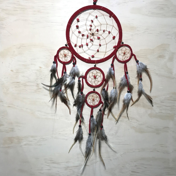 Red Dreamcatcher