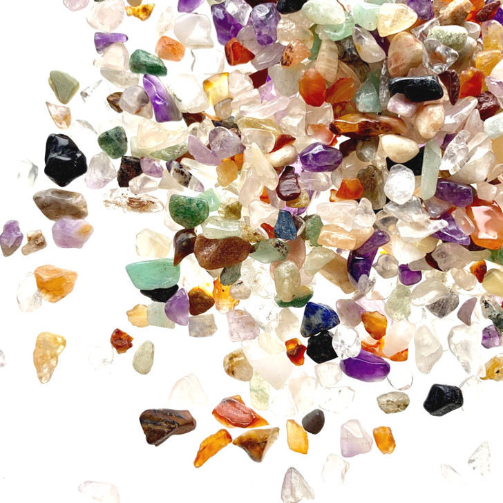 Rainbow Crystals Mini Tumbled Stone Chips