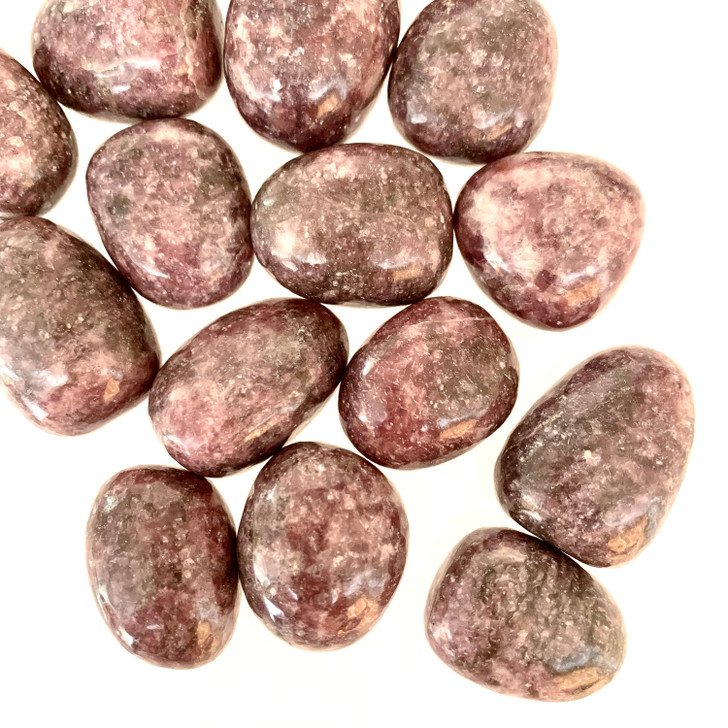 Afghanistan Lepidolite Tumbled Stone