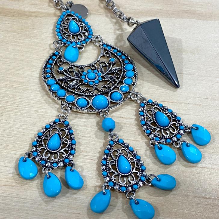 Hematite Gypsy Pendulum
